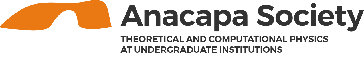 Anacapa Society | Theoretical and Computational Physics at Undergraduate Institutions